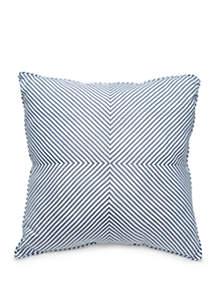 Madison Blake Stripe Throw Pillow