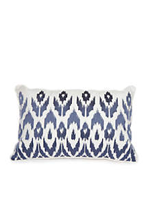 Madison Blake Ikat Throw Pillow