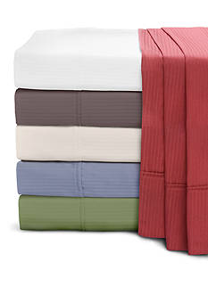 Home Accents® 400 Thread Count Damask Stripe Sheet Sets