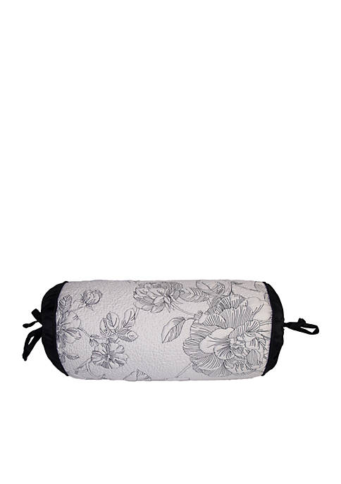 Lenox 174 Moonlit Garden White Black Neckroll Decorative