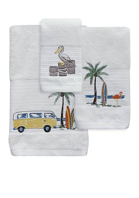 Bacova Shore Thing Bath Towel Collection