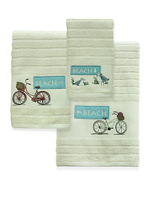 Bacova Beach Cruiser Bath Towel Collection