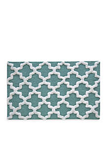 Quatrefoil Bath Rug Collection - Online Only