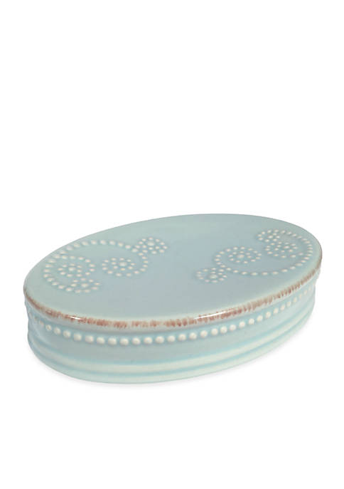 French Perle Groove Soap Dish 5.75-in. x 1-in.x