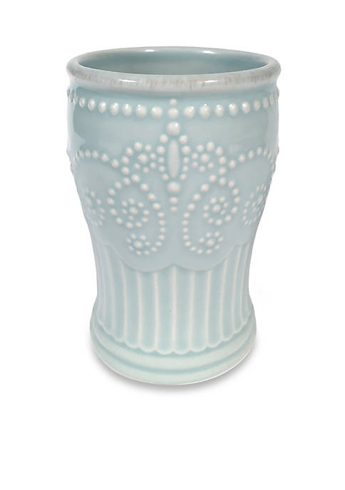 French Perle Groove Tumbler 2-in. x 4.5-in.