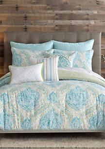 Casual Living Tangiers Full/Queen Reversible Duvet Set  92-in. x 96-in.