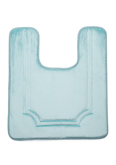 Home Accents® Chelsea Contour Bath Rug- Blue