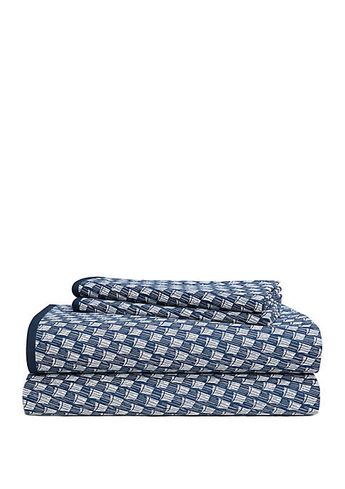 Casey Percale Sheet Set