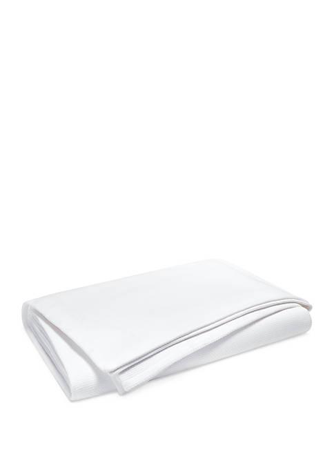 Willa Basket Weave Bed Blanket