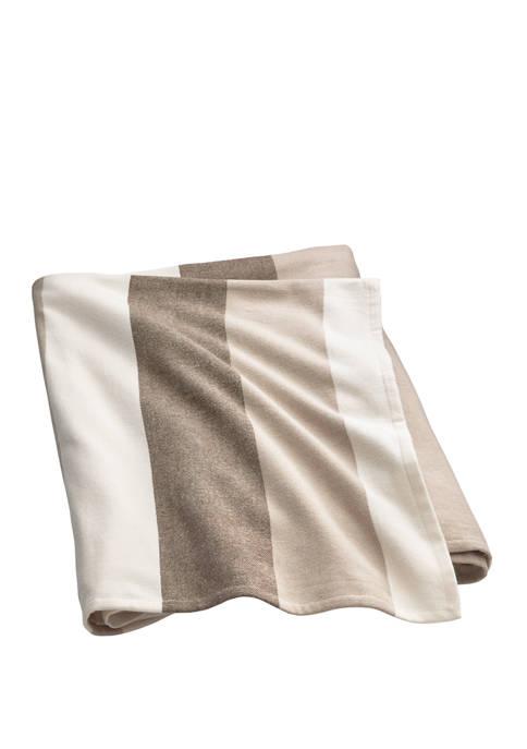 Lauren Ralph Lauren Mason Multi Stripe Bed Blanket