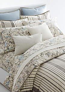 opulent design cream bedding. Lauren Ralph Devon Stripe Comforter Set Designer Bedding  Luxury belk