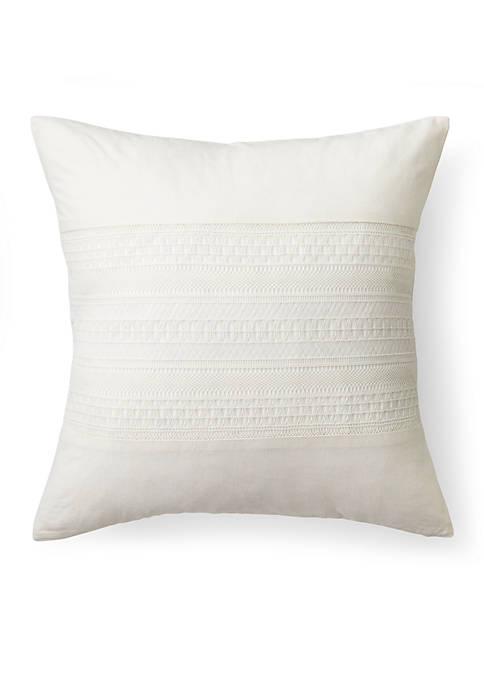 Lauren Ralph Lauren Devon Crochet Decorative Pillow