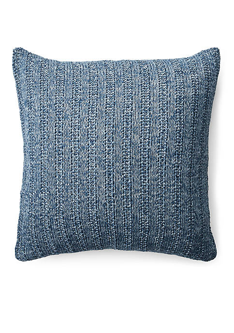Lauren Ralph Lauren Graydon Melange Knit Throw Pillow
