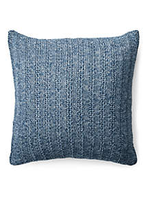 Graydon Melange Knit Throw Pillow