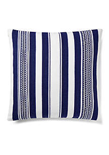 Nora Serape Striped Throw Pillow