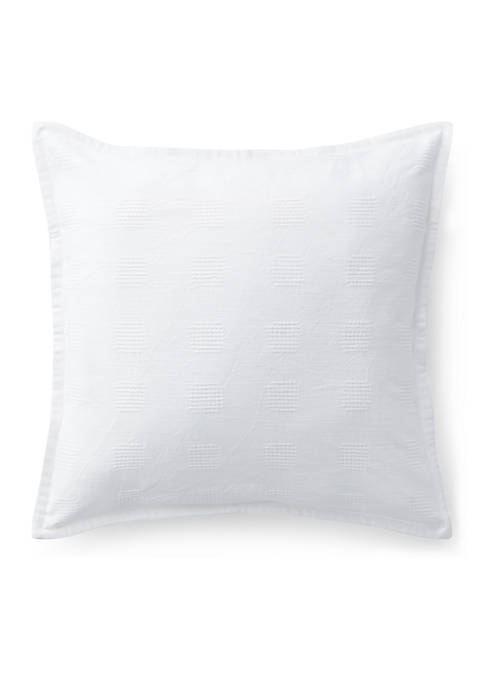 Lauren Ralph Lauren Gemma Crosshatch Throw Pillow