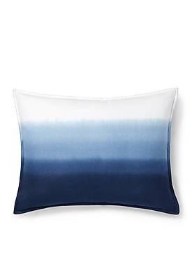 Flora Dip Dye Decorative Pillow