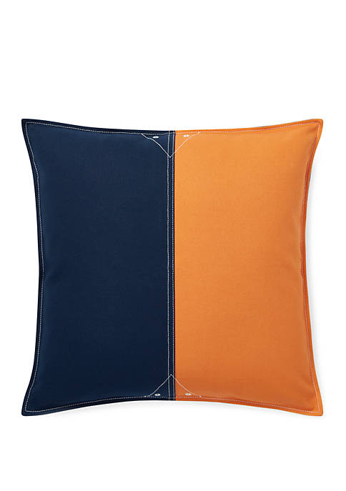 Lauren Ralph Lauren Casey Colorblock Throw Pillow