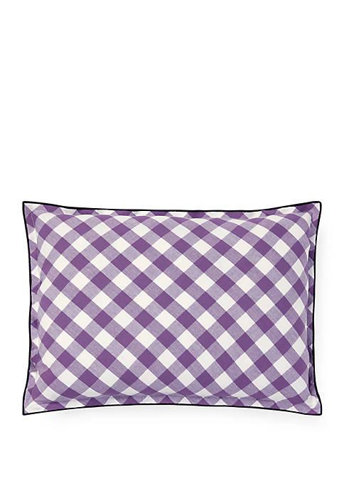 Ralph Lauren Marabella Plaid Throw Pillow
