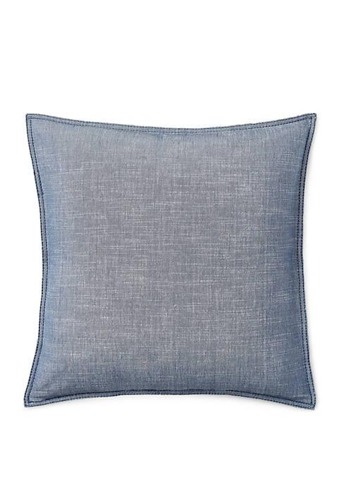 Juliet Chambray Throw Pillow