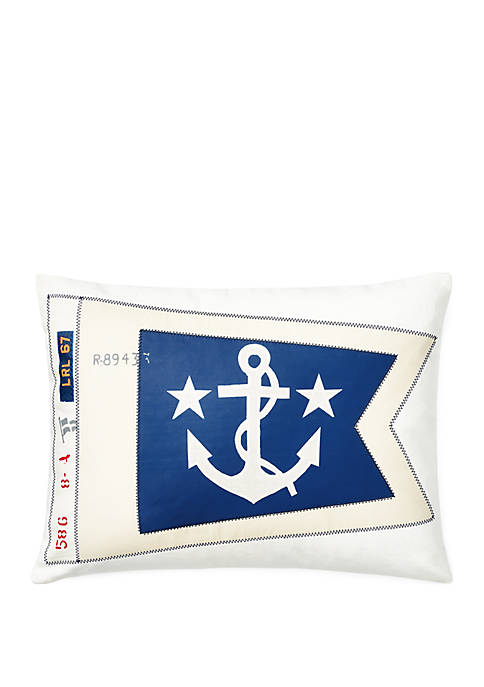 Lauren Ralph Lauren Casey Pennant Throw Pillow