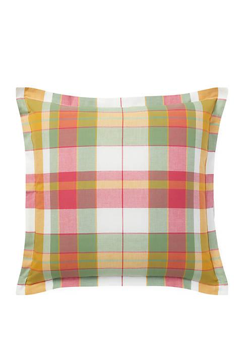 Spencer Madras Throw Pillow