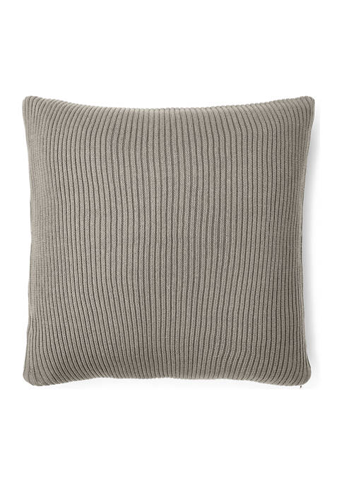Lauren Ralph Lauren Flora Rib-Knit Throw Pillow