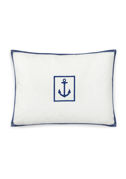 Lauren Ralph Lauren Evan Anchor Throw Pillow