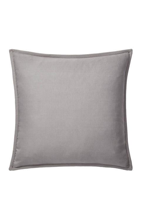 Luke Rib Matelassé Throw Pillow