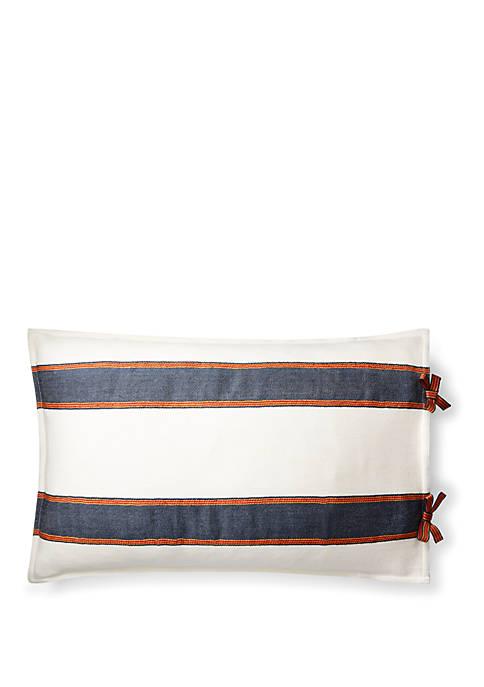 Tessa Striped Throw Pillow