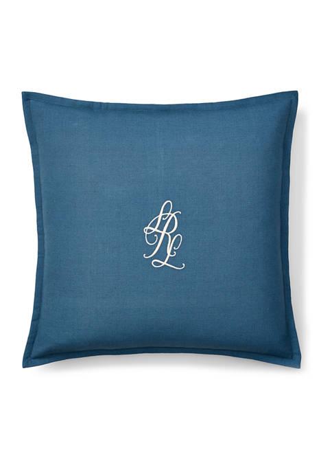 Lauren Ralph Lauren Julianne Monogram Throw Pillow