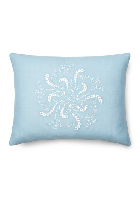 Lauren Ralph Lauren Julianne Embroidery Throw Pillow