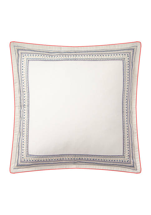 Lauren Ralph Lauren Estella Embroidered Throw Pillow