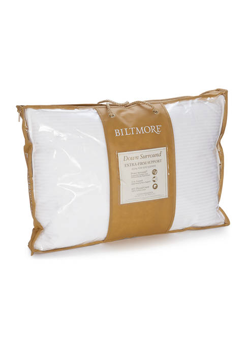 Down Surround Extra-Firm Support Pillow