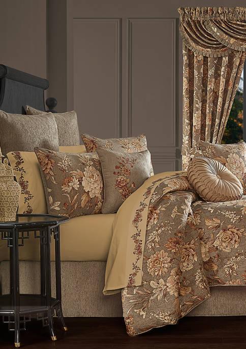 J Queen New York Camellia Comforter Set