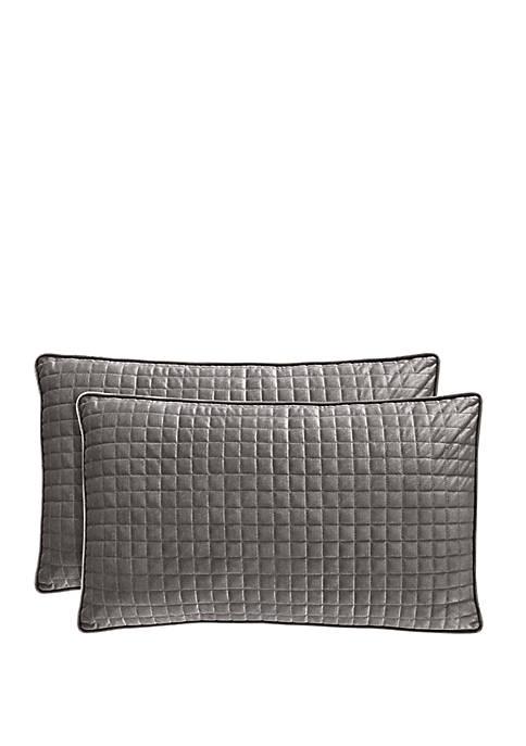 J Queen New York Glacier Boudior Pillow