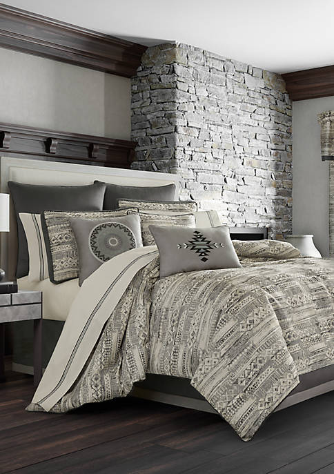 Brandon Graphite Comforter Set