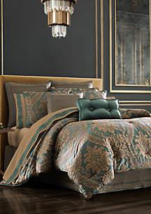 Montgomery Emerald Green Comforter Set
