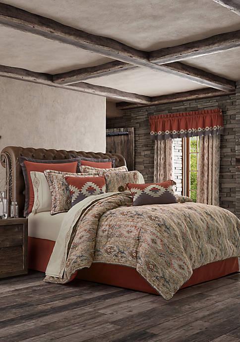 J Queen New York Brave Front Rust Comforter