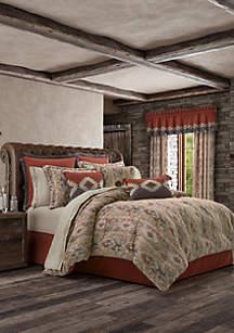J Queen New York Brave Front Rust Comforter Set