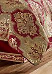 Maribella Crimson Comforter Set