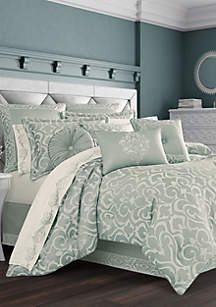 J Queen New York Lombardi Spa Comforter Set