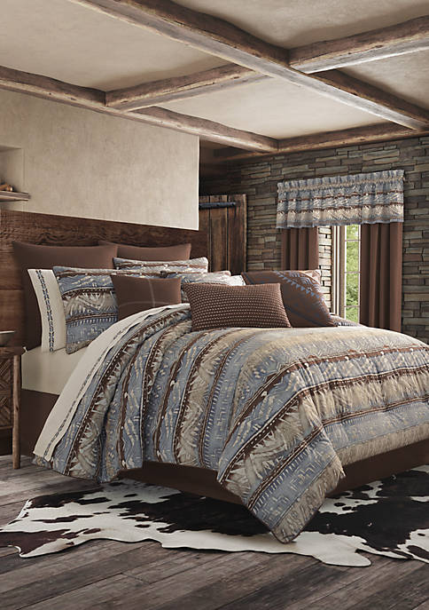 J Queen New York Okemo Chocolate Comforter Set