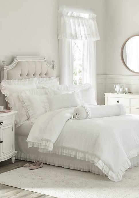 Piper & Wright Emily White Comforter Mini Set
