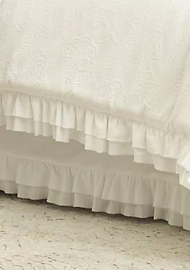 Emily White Bedskirt
