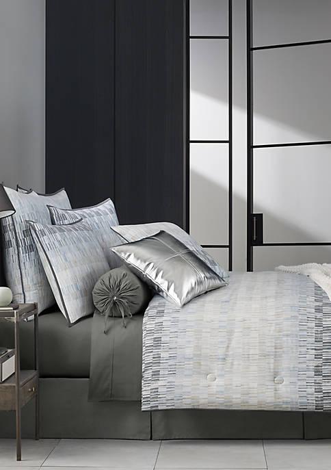 Oscar|Oliver Flatiron Teal Comforter Set