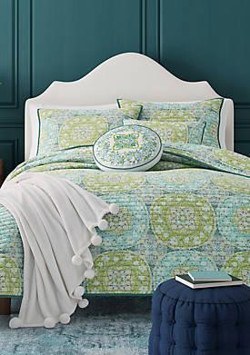 Avalon Green Quilt
