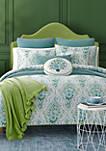 Kayani Teal Comforter Mini Set