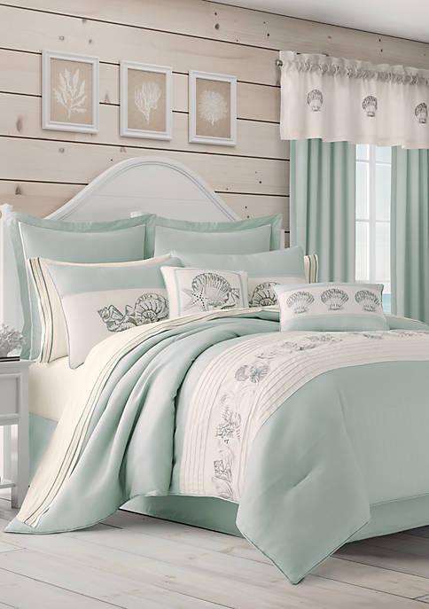 Royal Court Waters Edge Aqua Comforter Set
