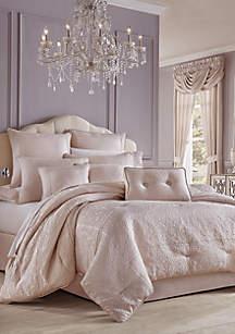 Queen Comforter Sets.J Queen New York Rigoletto Blush 4 Piece Comforter Set
